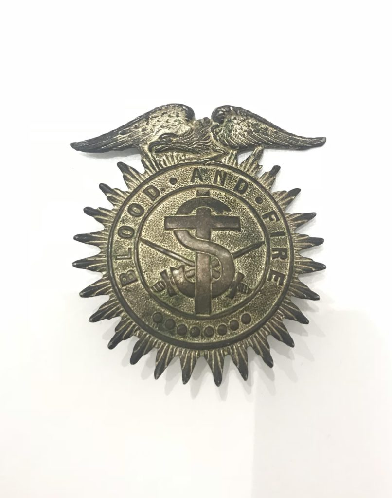 Salvation Army Eagle Crest hat emblem