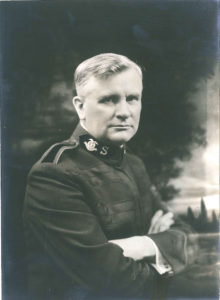 Photograph of a man in uniform