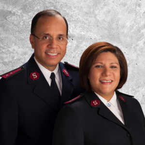 Photograph of Majors Enrique and Nancy Azuaje