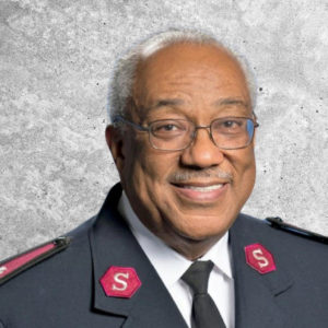 Graphic photo showing a photo of Major Maurice Smith